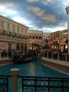 The Venetian Grand Canal gondolas and shopping, Las Vegas