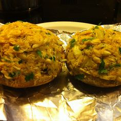 Crab Stuffed Portabella Mushrooms Recipe