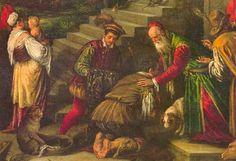 Francesco Bassano: El retorno del hijo pródigo.