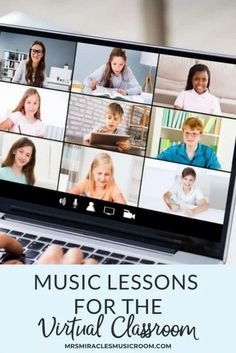 Music lessons for the virtual classroom: Ideas to keep students engaged during their elementary music lessons!