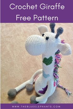 crochet giraffe pattern ***Get off your first order! --> This is a crochet pattern for a large giraffe toy. It's about feet tall when seated and the full size is about fe Amigurumi Giraffe, Giraffe Toy, Amigurumi Patterns, Giant Giraffe, Crochet Gratis, Crochet Dolls, Free Crochet, Crochet Giraffe Pattern, Crochet Patterns