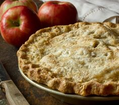 Apple pie and double crust