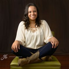 Meghan - Class of 2015 - Love this casual image in the studio.