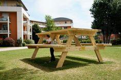 la table de pique nique architecture by benedetto buffalino
