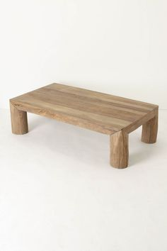 Reclaimed Coffee Table - Anthropologie.com