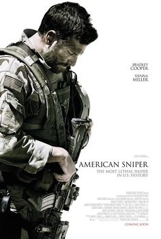 New poster for Clint Eastwood & Bradley Cooper's American Sniper - I want to see this movie!