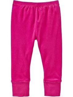 Velour Pants for Baby | Old Navy  Велюровые трикотажные штанишки. Хлопок 75%  полиэстер 25%