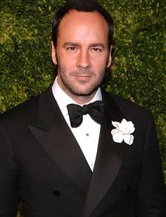 """Tom Ford - American Fashion Designer for Gucci & Film Director of the Movie """"A Single Man"""""""