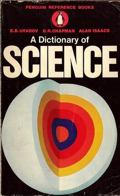 Science dictionary cover art