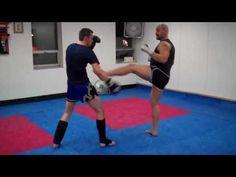 Counter to Muay Thai Teep and Push Kick
