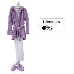 En Clonhadas encontraras lo  mejor para que al levantarte tengas el mejor estilo Bata y pantuflas en tono orquídea el color de la temporada.