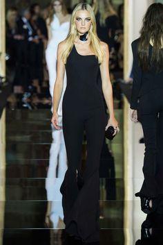 Atelier Versace | Spring/Summer 2015 Couture via Donatella Versace | Modeled by Caroline Trentini | January 25, 2015