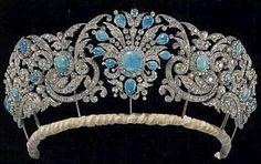 Vintage persian turquoise tiara