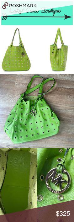 Spotted while shopping on Poshmark: MICHAEL KORS Colgate Grommet Leather Tote Bag! #poshmark #fashion #shopping #style #MICHAEL Michael Kors #Handbags