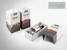 """Definitiv eine #Verpackung mit """"Wow""""-Effekt. Das Hauptthema bei der Gestaltung war Natur. Ziel war es, die Reinheit der prämierten Tropfen in der Verpackung widerzuspiegeln. Daher wurde das hochwertige, #regional produzierte #Naturpapier von #GMUND für die #Kaschierung von Verpackung und #Schuber verwendet. Die #Whiskyverpackung wurde zusätzlich mit einer #Prägung veredelt. #Dinkhauser Kartonagen Whisky, Regional, Magazine Rack, Packaging, Storage, Decor, Nature, Purse Storage, Decorating"""
