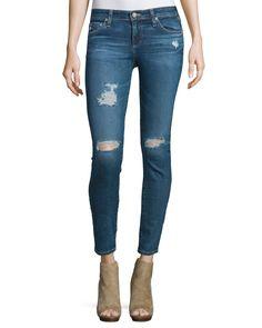 The Legging Distressed Ankle Jeans, 11 Years Swap Meet, 11y Swap Meet - AG