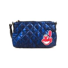 Cleveland Indians Quilted Wristlet Purse