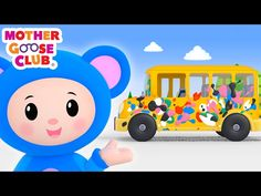 """Check out """"Wheels on the Bus Color Song"""" and rhyme with your loved ones! Check out more Mother Goose Club Nursery Rhymes on our channel. Rhymes With You, Rhymes For Kids, Baby Songs, Kids Songs, Diy Arts And Crafts, Crafts For Kids, Weird Songs, Phonics Song, Punk Baby"""