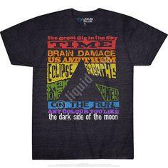 Dark Side Tracks Dark Heather Tri-Blend T-Shirt