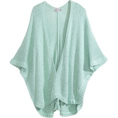 Adustia Cotton Blend Cocoon Sweater in Deep Tahiti ($275) ❤ liked on Polyvore featuring tops, sweaters, green top, cocoon sweater, calypso st barth sweater, calypso st. barth and green sweater