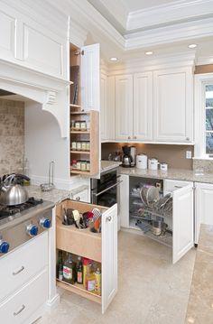 Ceiling molding. Pellegrini Kitchen - traditional - kitchen - other metro - Jay Rambo Co.