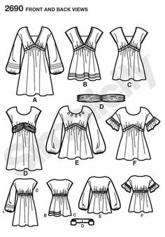 1301679965_183501822_2-simplicity-tunic-mini-dress-sewing-pattern-peasant-blouse-poets-top-2690-16-24-oklahoma-city.jpg (435×625)