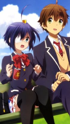 Chuunibyou demo Koi ga Shitai - Takanashi Rikka & Togashi Yuuta