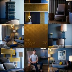 hopinteriors.com | UK Interior Design Blog: The Broom Room: Lee Broom's 1st Hotel Project
