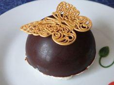 Dômes chocolat à l'ananas et insert de coco
