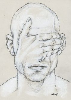 disturbing faces drawings - Google Search