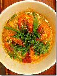 Southeast Asian Shrimp Noodles
