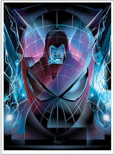 SPIDER-MAN 2: Electro  Vector Tribute and CONTEST by Orlando Arocena, via Behance