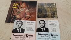 Anton Marco 4 record albums 2 autographed. by Eclectasism on Etsy