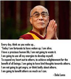 Dali Lama. We can learn alot from him.
