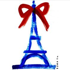 La Tour Eiffel by Donald Drawbertson.