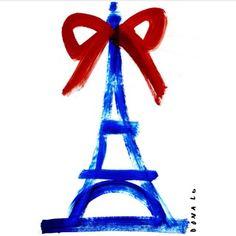 La Tour Eiffel by Donald Drawbertson.