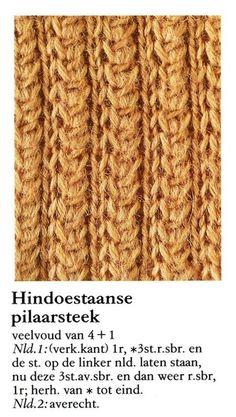 Hindoestaanse pilaarsteek 001 - Breisteken