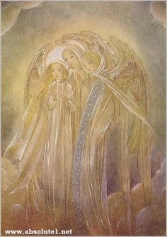 three angels..Sulamith Wulfing