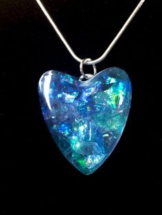 Resin crystal heart shaped pendant chakra balancing by lbidler resin crystal heart shaped pendant chakra balancing by lbidler mozeypictures Image collections