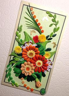 Quilling Card Handmade. Quilled Card. Birthday Card. Unique