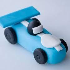 Fondant race car
