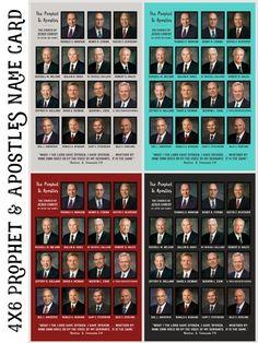 *New* Prophet & Apostles Prints Freebie