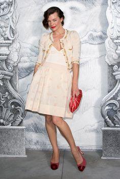 Milla Jovovich.  Chanel.