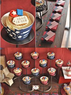 Birds Party Blog: Vintage Americana 4th July Party BBQ + NEW Printable Designs!