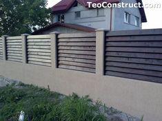 Garduri din lemn preturi Brasov 3 Design Case, Romania, Shed, Outdoor Structures, Fence, Wood, Gardens, Barns, Sheds