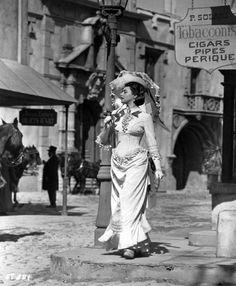 """Ingrid Bergman - """"Saratoga Trunk""""  (1946) - Costume designer : Leah Rhodes"""
