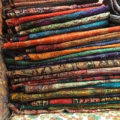 These gorgeous silk Kantha scarves have just been listed on Art of Vintage Souk. Each one is unique and also inexpensive. A perfect gift for someone looking for something just a little different.