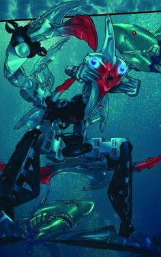 """Pridak-from the Bionicle short """"The Jailer's tale"""""""