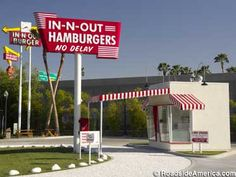 Replica of the First In-N-Out Burger, Baldwin Park, CA