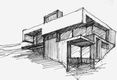 croquis de arquitectura